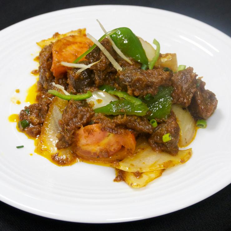 奈良王寺の本格インド料理 Mayur -マユール- 砂肝の炒め