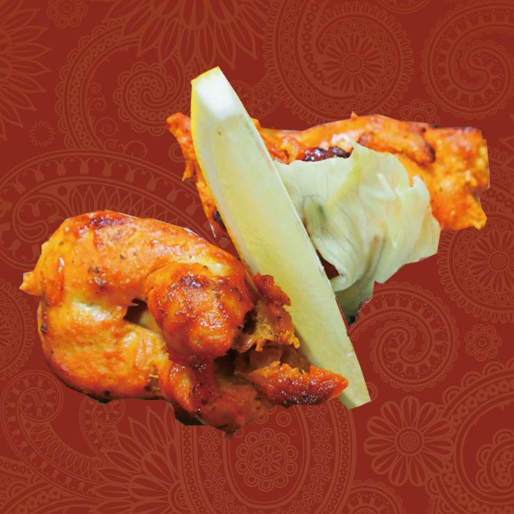 奈良王寺のインド料理 Mayur -マユール- チキンティッカ2P
