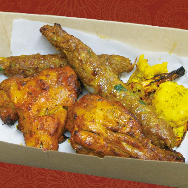 奈良王寺のインド料理 Mayur -マユール- ミックスケバブ