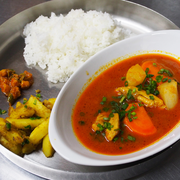 奈良王寺のインド料理 Mayur -マユール- スープカレー