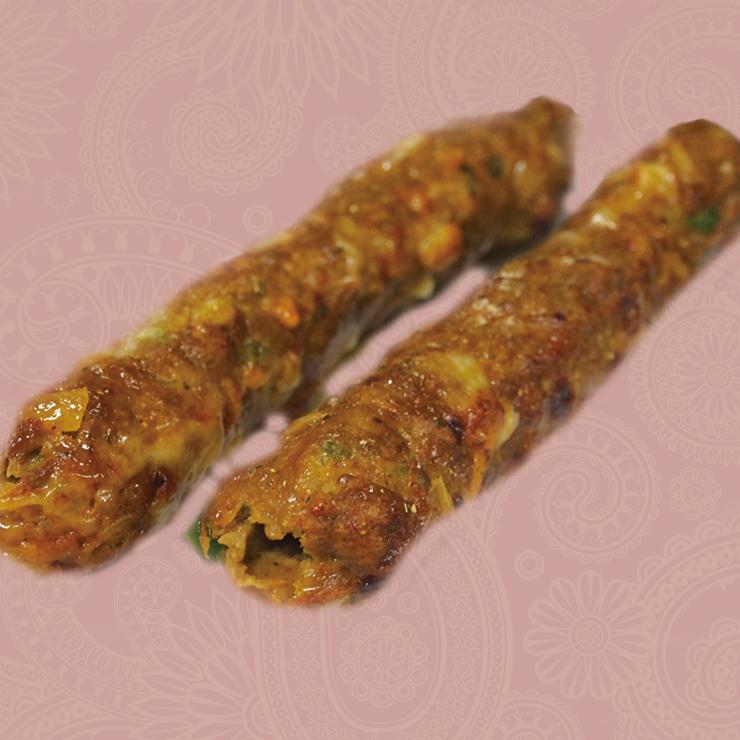 奈良王寺のインド料理 Mayur -マユール- シークケバブ