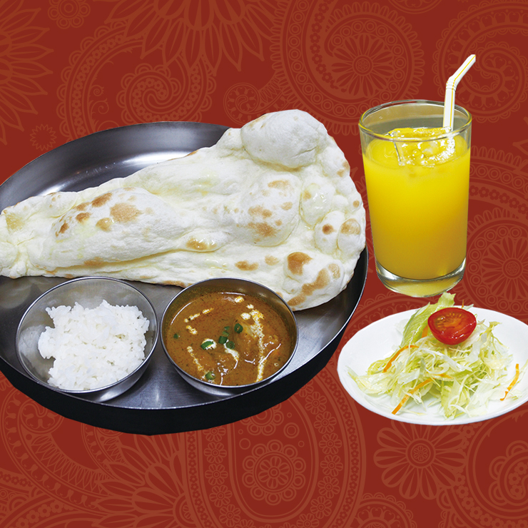 奈良王寺のインド料理 Mayur -マユール- お子様ランチ