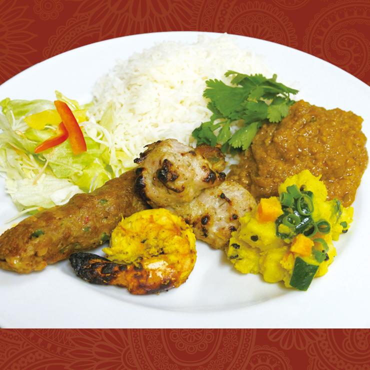 奈良王寺のインド料理 Mayur -マユール- オススメプレート