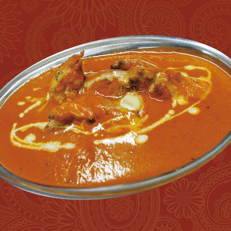 奈良王寺の本格インド料理 Mayur -マユール- バターチキンカレー