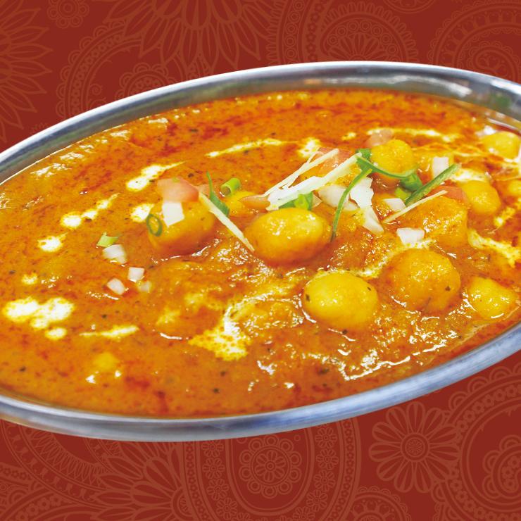 奈良王寺の本格インド料理 Mayur -マユール- ひよこ豆のカレー