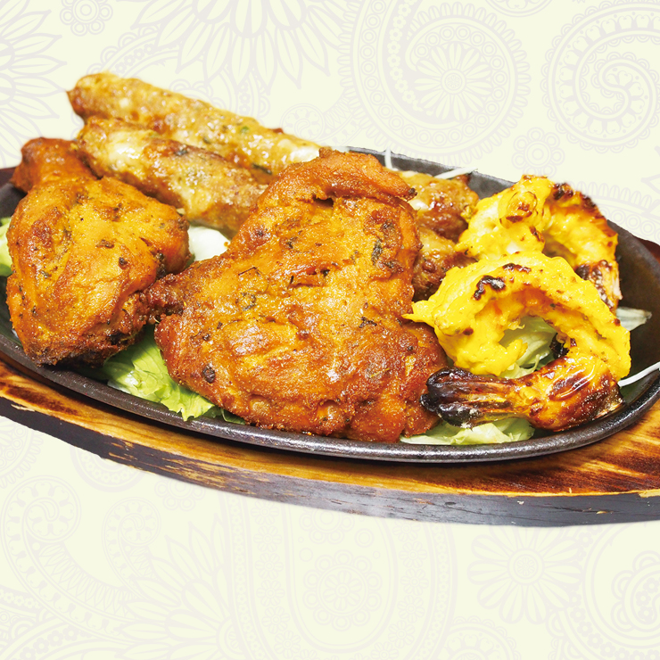 奈良王寺のインド料理 Mayur -マユール- ミックスグリル