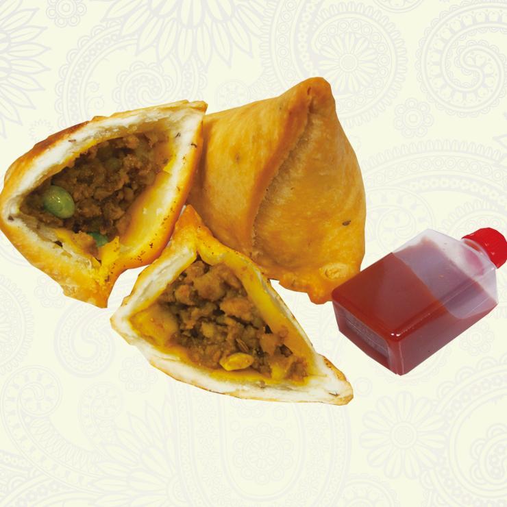 奈良王寺の本格インド料理 Mayur -マユール- サモサ