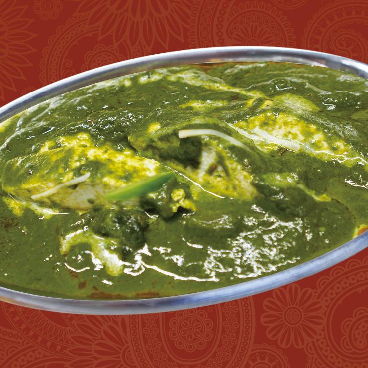 奈良王寺のインド料理 Mayur -マユール- サーグパニール